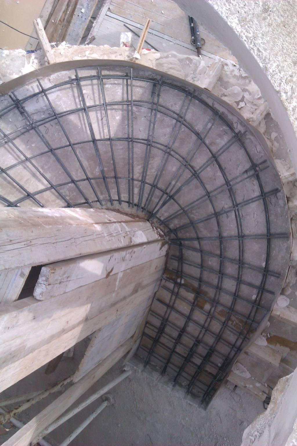 3 estructura con escalera helicoidal edificaciones afan - Estructura caracol ...